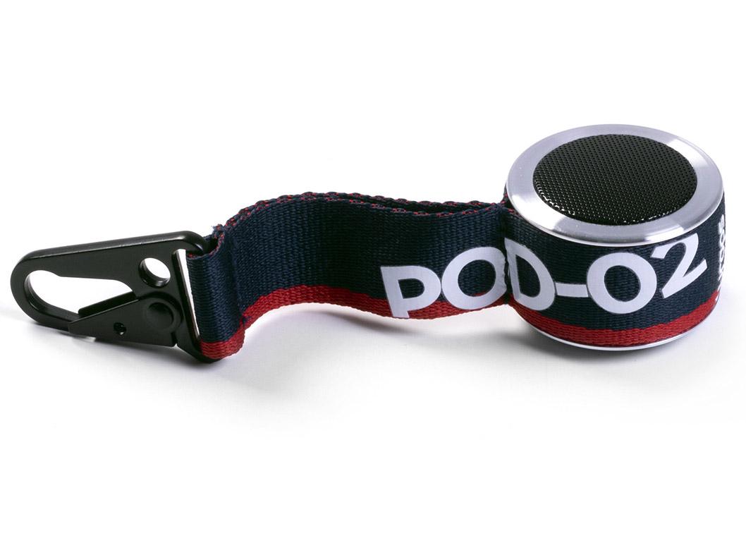 wraps clip & go bluetooth speaker