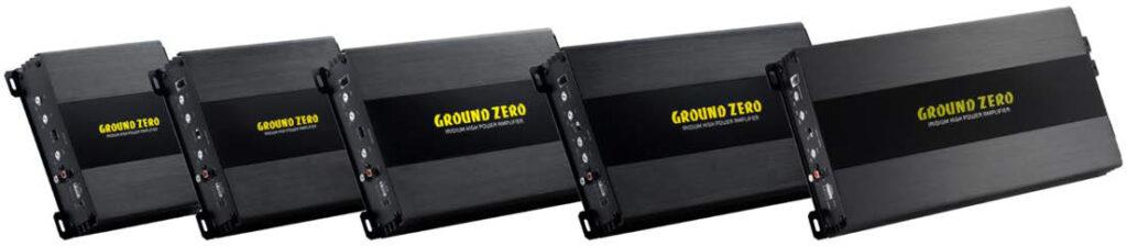 ground zero iridium amplifiers