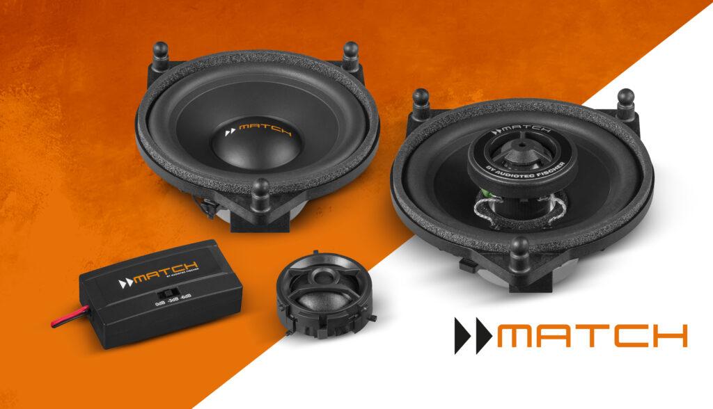 match mercedes speaker upgrade